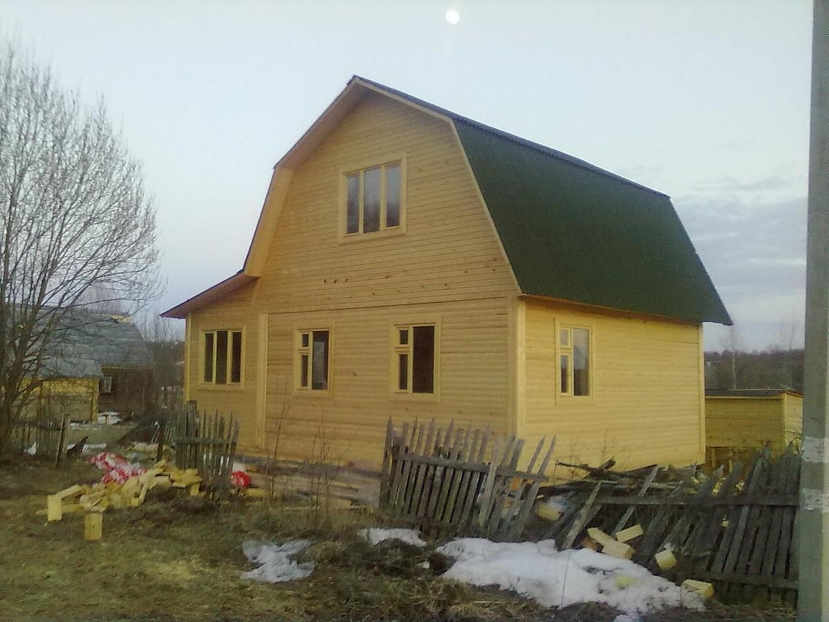 Фото домов из бруса